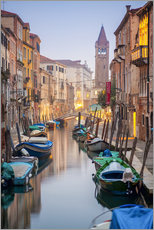 Wall Sticker  Romantic Cityscape of Venice at night - Jan Christopher Becke