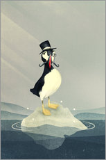 Gallery print  Lord Puffin - Romina Lutz