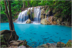 Gallery print  Erawan waterfall