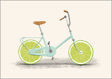 Gallery print  Lime Bike - Florent Bodart