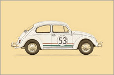 Wall sticker  beetle - Florent Bodart
