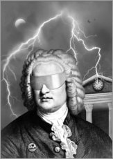 Wall sticker  Bach To the Future - Florent Bodart