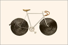 Gallery print  Licorice Bike - Florent Bodart