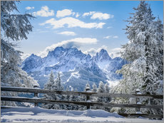 Wall sticker  Winter in the Sesto Dolomites, South tyrol, Italy - Christian Müringer