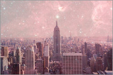 Gallery print  Stardust Covering NYC - Bianca Green