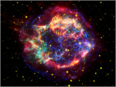 Wall sticker  Supernova remnant Cassiopeia A - Nasa