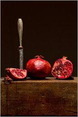 Wall sticker  Pomegranates - Gerhard Albicker