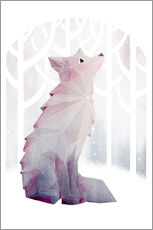 Wall Stickers  Fox In The Snow - littleclyde