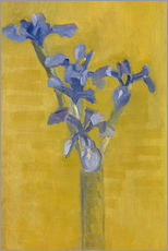 Wall sticker  Irises - Piet Mondriaan