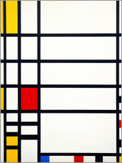 Wall Stickers  trafalgar square work type - Piet Mondrian