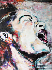 Gallery print  Billie Holiday, I'm a Fool to Want You - Christel Roelandt