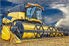 Wall sticker  Harvester in the cornfield - Peter Roder