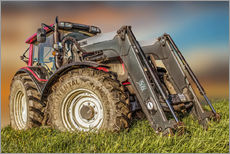 Wall sticker  Tractor with front loader - Peter Roder