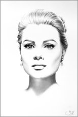 Gallery print  Grace Kelly - Ileana Hunter
