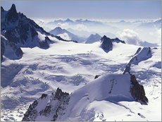 Gallery print  Aiguille du Midi, outpost of the Mont Blanc massif - Thonig
