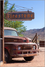 Gallery print  Rusted Ford, Wild West - Catharina Lux