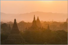 Wall sticker  Sunrise over the ancient temples of Bagan II - Harry Marx