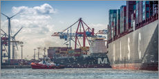 Gallery print  Fish market, port, container terminal - Ingo Boelter