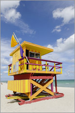 Wall sticker  Beach Watch Tower '3 ST' - Axel Schmies