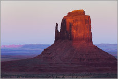 Gallery print  Monument Valley at sunset - Rainer Mirau