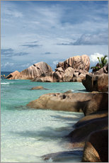 Gallery print  Tropical beach in the Seychelles - Catharina Lux