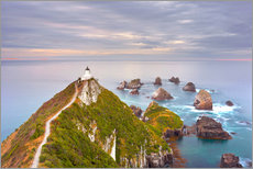 Wall sticker  Nugget Point Lighthouse in New Zealand - Rainer Mirau