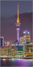 Wall sticker  Skyline of Auckland - Rainer Mirau