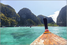 Wall sticker  Boat tour in Koh Phi Phi Leh, Thailand - Harry Marx