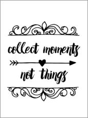 Wall sticker collect moments