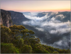 Gallery print  Misty Mountains - Michael Breitung