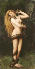 Wall sticker  Lilith - John Collier
