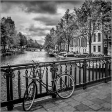 Wall Stickers  AMSTERDAM Emperors Canal - Melanie Viola