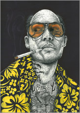 Gallery Print  Fear and Loathing - Inked Ikons