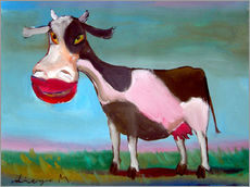 Gallery print  Snazzy cow - Diego Manuel Rodriguez