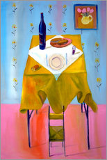 Gallery print  Small chair and big table - Diego Manuel Rodriguez