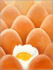 Gallery print  Fresh farm eggs - Monica Schwarz