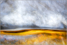 Gallery print  Abstract Silver and Gold - Sander Grefte