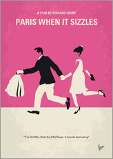 Wall Stickers  No785 My Paris When it Sizzles minimal movie poster - chungkong