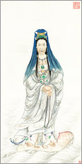 Gallery print  Empress Dowager Cixi as Guanyin - Chinese School