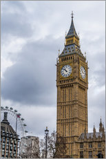 Wall sticker  Big Ben - Salvadori Chiara