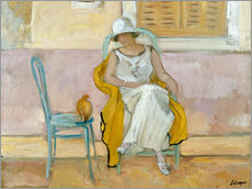 Wall sticker  Woman in a white dress - Henri Lebasque