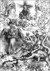 Gallery print  The Apocalyptic woman or the woman clothed with the sun - Albrecht Dürer
