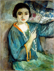 Gallery print  Nono with Umbrella - Henri Lebasque