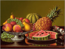 Gallery print  Still Life with Fruit  - Levi Wells Prentice