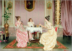 Gallery print  The Tea Party - Vittorio Reggianini