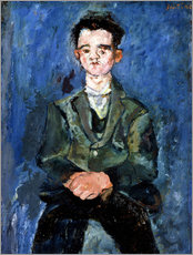 Wall sticker  Boy in Blue - Chaim Soutine
