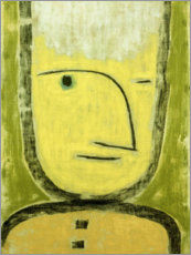 Gallery Print  The Yellow-Green - Paul Klee