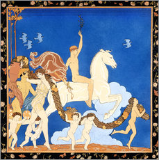 Gallery print  The white horse - Georges Barbier