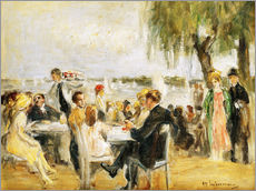 Wall Stickers  Garden Cafe on the Elbe - Max Liebermann