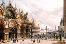 Gallery print  The Basilica di San Marco and the Doge's Palace in Venice - Carlo Grubacs